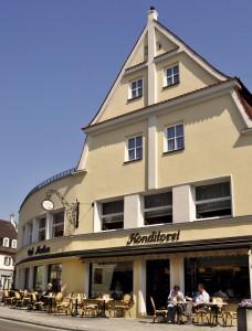 Das Café Madlon in Wertingen