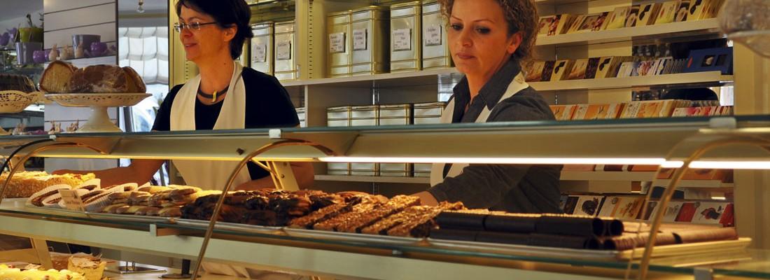 Ladengeschäft des Café Madlon