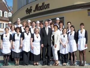 Das Team des Café Madlon